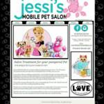 Copyright Protected. To see entire website, go to www.JessisMobilePetSalon.com